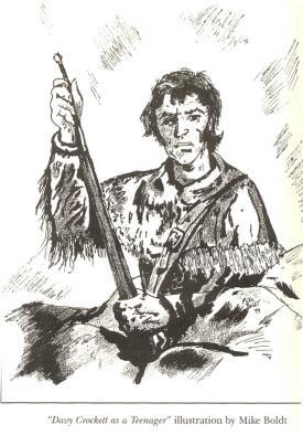 Davy Crockett by michaelalamo